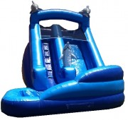 Mega-Blue-Dolphin-Water-Slide
