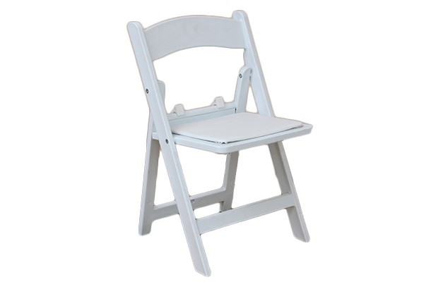 Swell Kid White Folding Padded Resin Chair Squirreltailoven Fun Painted Chair Ideas Images Squirreltailovenorg